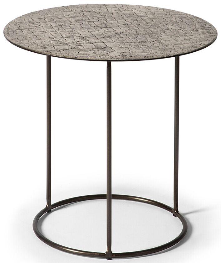 Ethnicraft Celeste Lava Taupe Side Table