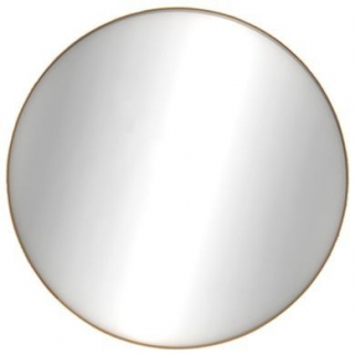 Ethnicraft Oak Layers Small Round Wall Mirror