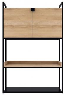 Ethnicraft Oak Cell 2 Door Unit Storage Cupboard