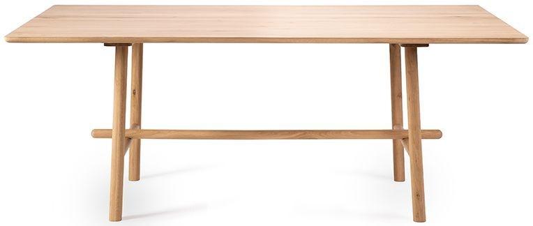 Ethnicraft Oak Profile Rectangular Dining Table