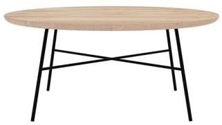 Ethnicraft Oak Disc Round Coffee Table