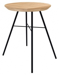 Ethnicraft Oak Disc Stool
