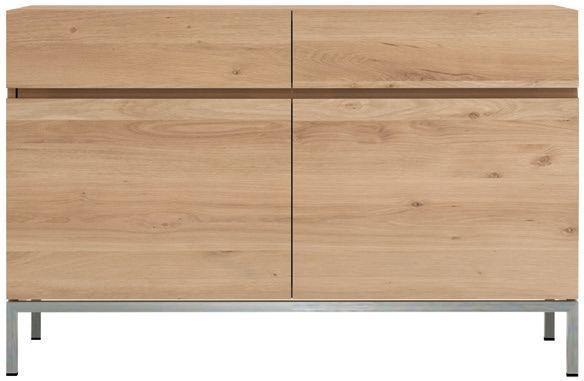 Ethnicraft Oak Ligna 2 Door 2 Drawer Sideboard