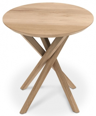 Ethnicraft Oak Mikado Side Table