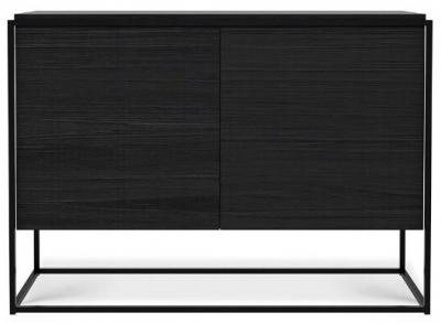 Ethnicraft Oak Monolit Black 2 Door Sideboard