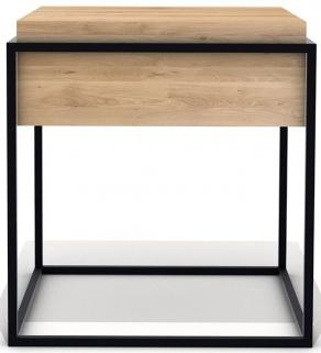 Ethnicraft Oak Monolit Small Side Table - Black