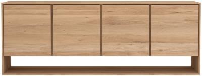 Ethnicraft Oak Nordic 4 Door Wide Sideboard