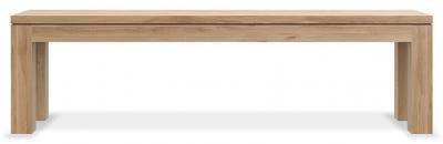 Ethnicraft Oak Straight Dining Bench - 160cm