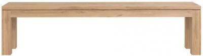 Ethnicraft Oak Straight Dining Bench - 140cm