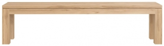 Ethnicraft Oak Straight Dining Bench - 180cm