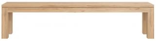 Ethnicraft Oak Straight Dining Bench - 200cm