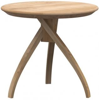 Ethnicraft Oak Twist Small Side Table