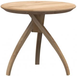 Ethnicraft Oak Twist Large Side Table