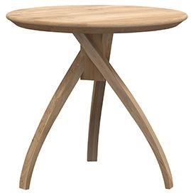 Ethnicraft Oak Twist Medium Side Table