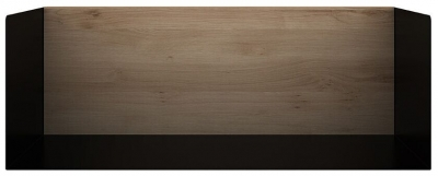 Ethnicraft Oak Black Medium U Shelf