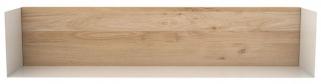 Ethnicraft Oak White Large U Shelf