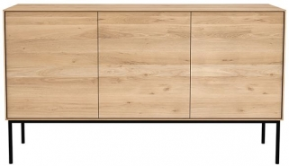 Ethnicraft Oak Whitebird 3 Door Sideboard