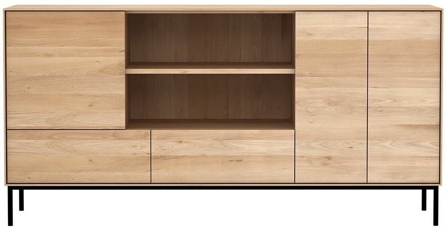 Ethnicraft Oak Whitebird 3 Door 2 Drawer Sideboard