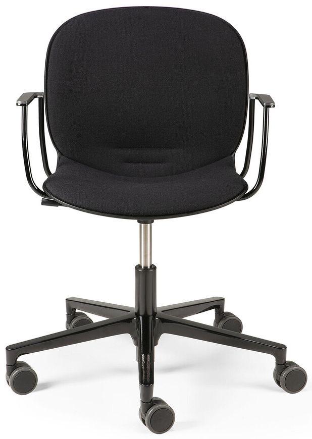 Ethnicraft RBM Noor Black Armrest Office Chair