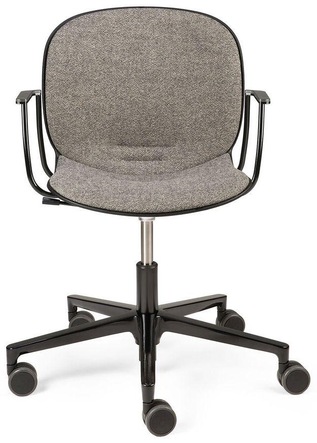 Ethnicraft RBM Noor Grey Armrest Office Chair