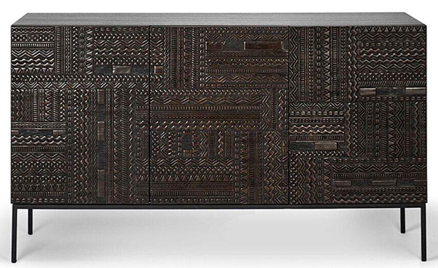Ethnicraft Teak Ancestors Tabwa 3 Door Medium Sideboard