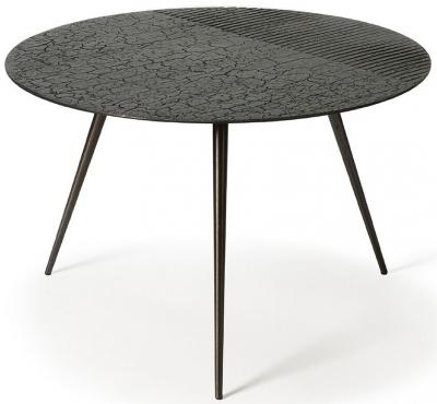 Ethnicraft Luna Linear Black Coffee Table