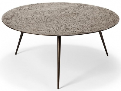 Ethnicraft Luna Taupe Large Coffee Table