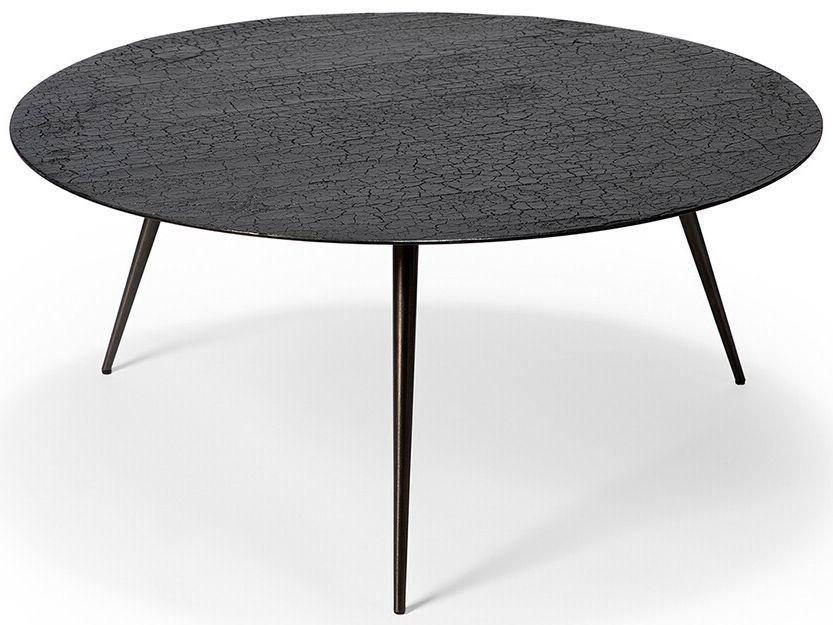 Ethnicraft Luna Black Large Coffee Table