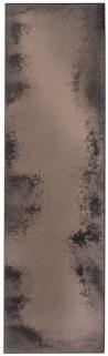 Notre Monde Bronze Heavy Aged Metal Frame Long Rectangular Mirror - 71cm