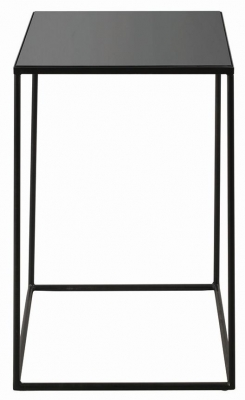 Notre Monde Charcoal Mid Large Square Side Table