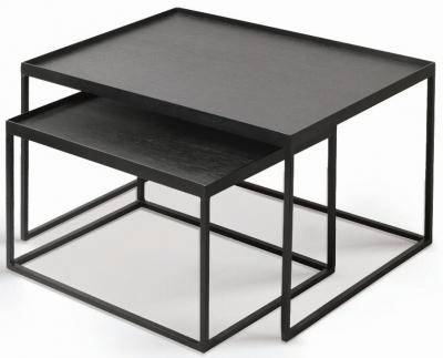 Notre Monde Rectanglular Tray Table Set
