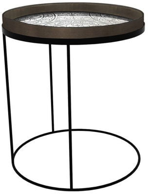 Notre Monde Round Large Tray Table