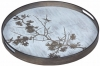 Notre Monde Blossom Small Round Driftwood Tray