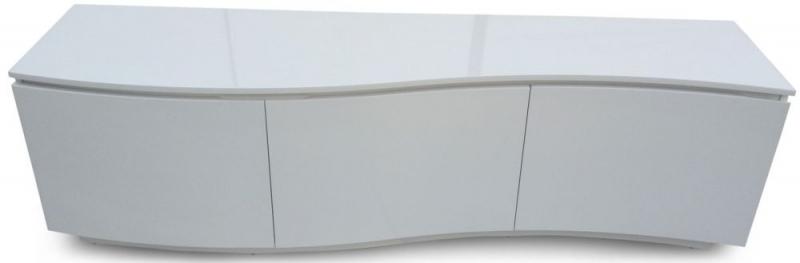 Azure White High Gloss TV Unit