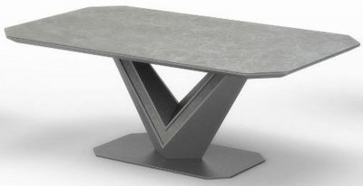 Bellagio Grey Ceramic Coffee Table