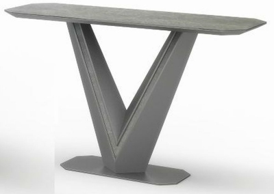 Bellagio Grey Ceramic Console Table