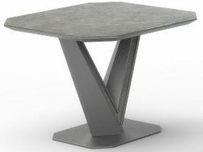 Bellagio Grey Ceramic Side Table
