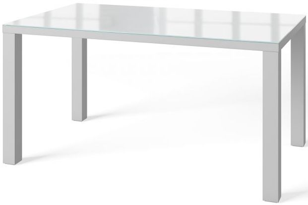 Blanca Grey High Gloss Large Dining Table