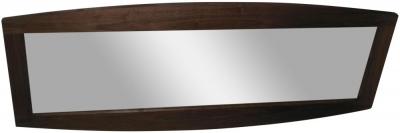 Doulton Walnut Rectangular Wall Mirror - 170cm x 70cm