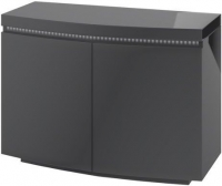 Florence Grey High Gloss 2 Door Sideboard with LED Light