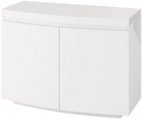 Florence White High Gloss 2 Door Sideboard with LED Light