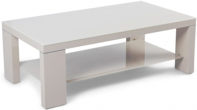 Lucca Cream High Gloss Coffee Table