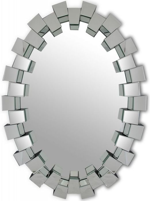 Block Oval Mirror - 87cm x 120cm