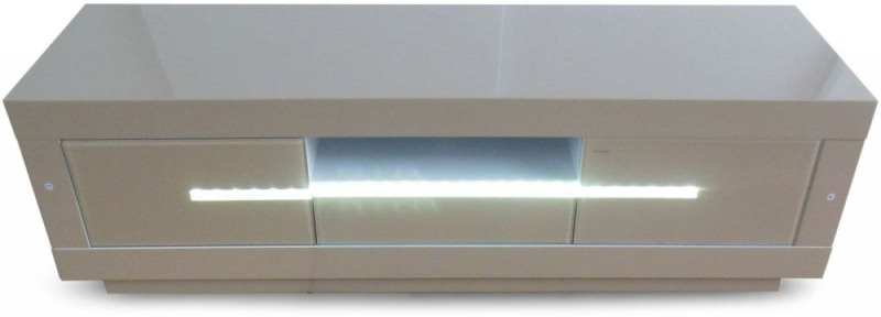 Monte Carlo Cream High Gloss TV Unit with LED