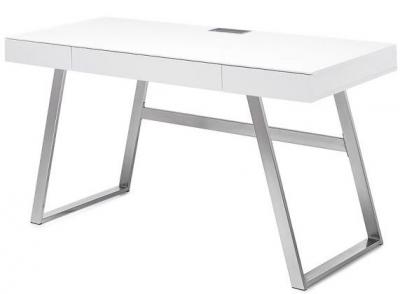 Vitra White High Gloss Desk