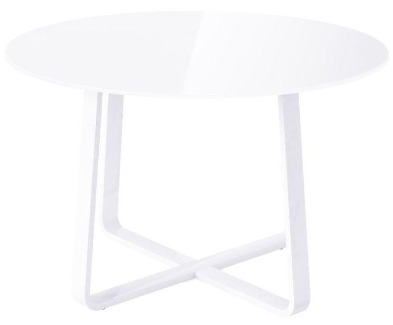 Nova White Round Dining Table