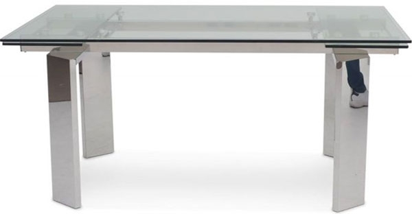 Fairmont Furniture Torelli Dining Tables In Glass High