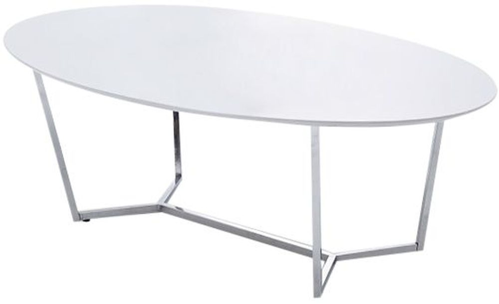 Tesla White High Gloss Large Coffee Table