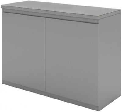 Vivaldi Matt Grey 2 Door Sideboard