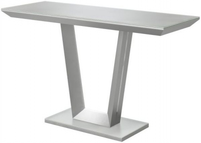 Vivaldi Matt Grey Console Table